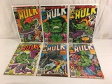 Lot of 6 Pcs Collector Vtg Marvel The Incredible Hulk Comic Books No.224.225.226.227.229.235.