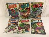 Lot of 6 Pcs Collector Vtg Marvel The Incredible Hulk Comic Books No.237.247.269.270.271.272.