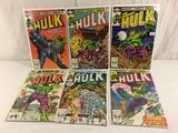 Lot of 6 Pcs Collector Vtg Marvel The Incredible Hulk Comic Books No.273.274.275.276.277.278.