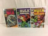 Lot of 3 Pcs Collector Vintage Marvel Comics The Incredible Hulk Comic Books No.1.13.16.