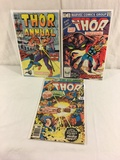 Lot of 3 Pcs Collector Vintage Marvel Comics The Mighty Thor Comic Books No.7.10.12.