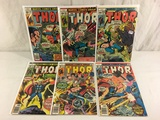 Lot of 6 Pcs Collector Vintage Marvel The Mighty Thor Comic Books No.266.267.268.269.271.272.