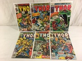 Lot of 6 Pcs Collector Vintage Marvel The Mighty Thor Comic Books No.273.275.276.277.278.283.