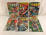Lot of 6 Pcs Collector Vintage Marvel The Mighty Thor Comic Books No.284.285.295.300.317.318.