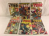 Lot of 6 Pcs Collector Vintage Marvel The Mighty Thor Comic Books No.319.320.321.322.323.324.