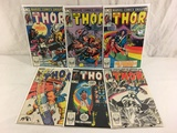 Lot of 6 Pcs Collector Vintage Marvel The Mighty Thor Comic Books No.331.332.333.334.336.337.