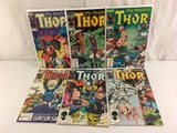 Lot of 6 Pcs Collector Vintage Marvel The Mighty Thor Comic Books No.346.347.348.349.351.353.