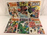 Lot of 6 Pcs Collector Vintage Marvel The Mighty Thor Comic Books No.354.355.356.357.358.359.