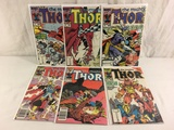 Lot of 6 Pcs Collector Vintage Marvel The Mighty Thor Comic Books No.360.361.362.363.375.378.