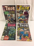 Lot of 4 Pcs Collector Vintage Marvel The Mighty Thor Comic Books No.397.398.403.404.