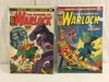Lot of 2 Pcs Collector Vtg Comics The Power Of Warlock Comic Books No.5.7.
