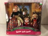 """NIB Collector Holiday Sisters Barbie Kelly Stacie Doll Giftset Box: 13""""z14"""""""