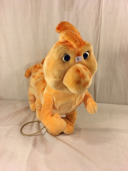 "Collector Vintage 1985 Alchemy II World's of Wonder Grubby Animated Talking Stuffed Animal 18"" long"
