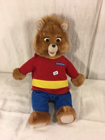 "Collector 1998 Alchemy II Teddy Ruxpin Animated Talking Teddy Bear 16"" Tall"