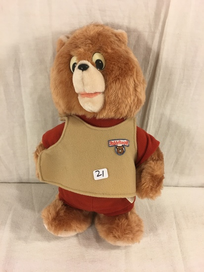 Collector Vintage 1987 Alchemy II World's of Wonder Teddy Ruxpin Little Boppers Dancing Teddy Bear 1