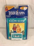 Collector NIP 1998 Alchemy II The New World of Teddy Ruxpin The Day Teddy Met Grubby Cassette & Stor