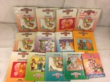 Collector Vintage Teddy Ruxpin Assorted 12 Storybooks