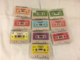 Collector Vintage Alchemy II World's of Wonder Teddy Ruxpin Assorted 10 Cassettes