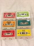 Collector Vintage Alchemy II World's of Wonder Teddy Ruxpin Assorted 6 Cassettes