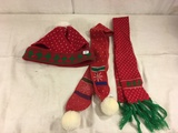 Collector Teddy Assorted Christmas Hat & Scarves