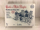 Collector Marx Toys Castle of the Noble Knights Medieval Playset #4710 w/ All Accessories Box: 21