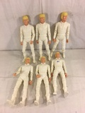 Lot of 5 pcs Collector Reissue Louis Marx Erik The Viking Warrior Poseable Action Figures 11.5