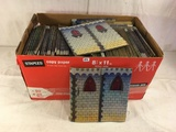 Collector loose Box Of Marx Accessory/Castle Board Toys - See Pictures