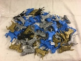 Lot of 40 Pcs Collector Loose Marx Miniatures Horse Assorted Colors  - See Pictures