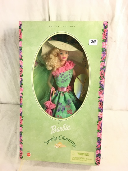 NIB Collector Simply Charming Barbie Doll