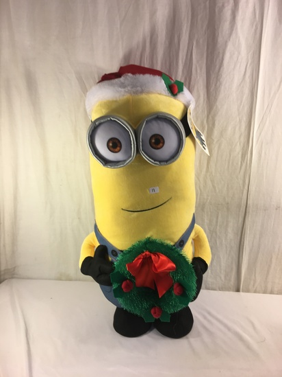"""Collector NWT Universal Illumination Despicable Me Kevin Holiday Greeter 24-25""""Tall"""