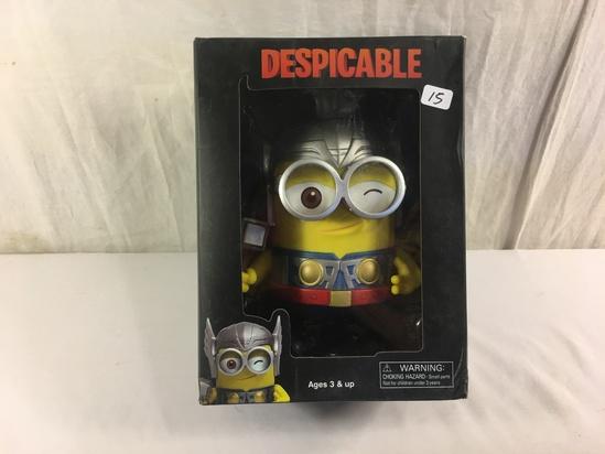 "NIB Colletcor Despicable Me 2 Thor Odinson Minion Superhero Edition Figure: Toys & Games 9.5""T Box"