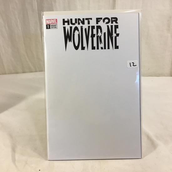 Collector Marvel Comic Book  Variant Edition Hunt For Wolverine #1 Marvel Comic Book
