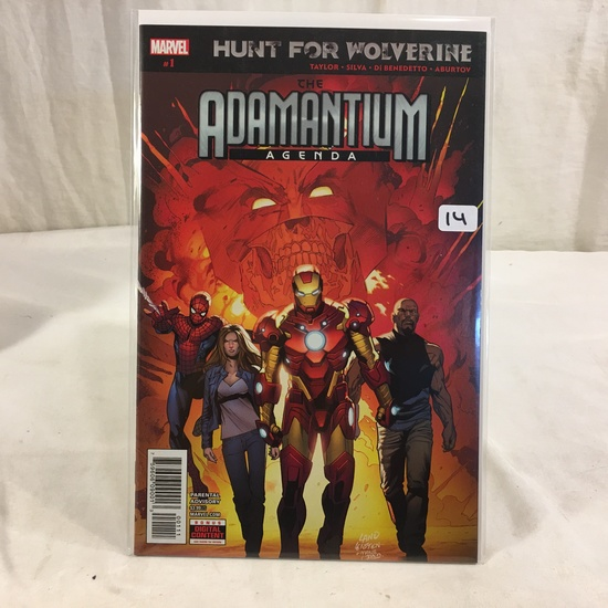 Collector Marvel Comic Book Hunt For Wolverine The Adamantium Agenda #1 Marvel Comic Book
