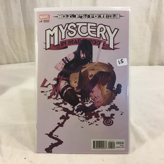 Collector Marvel Comic Book Variant Edition Hunt For Wolverine #1 Mystery in Madripoor