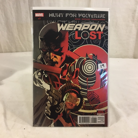 Collector Marvel Comic Book Hunt For Wolverine #1 Weapon Lost Comic Book