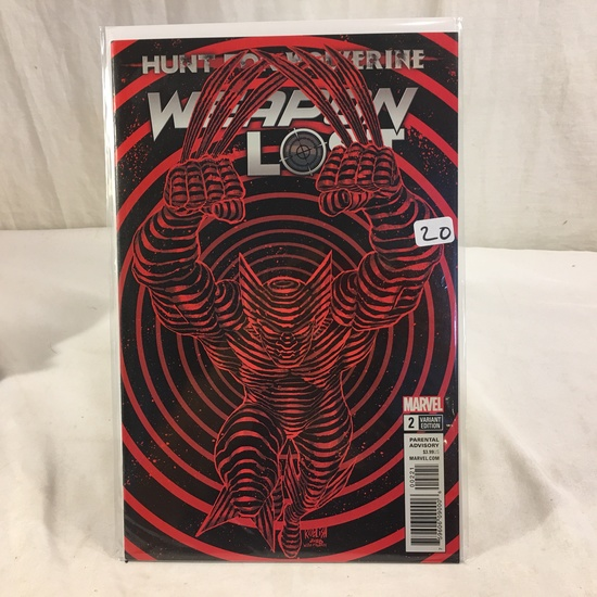 Collector Marvel Comic Book Hunt For Wolverine #2 Variant Edition Weapon Lost Comic Book