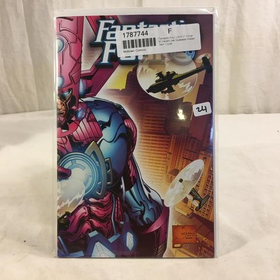 Collector Marvel Comic Book Fantastic Four Vol.6 #1 Cover M Variant Edition Comic Book
