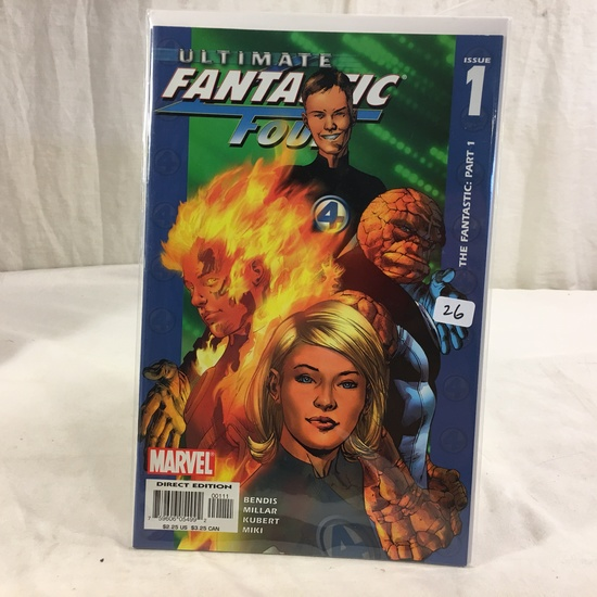 Collector Marvel Comic Book Ultimate Fantastic Four #1 Part 1 Marvel Comic Book