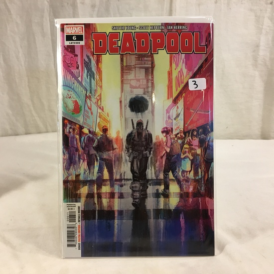 Collector Marvel Comics  Edition Deadpool #6 LGY#306  Comic Book