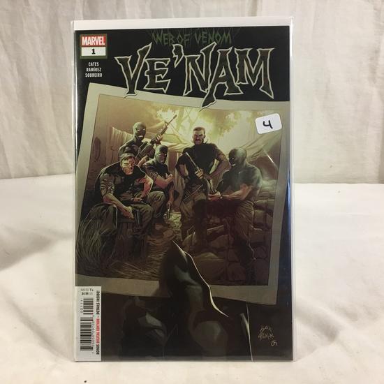 Collector Marvel Comic Book Web Of Venom VE'NAM #1 Comic Book