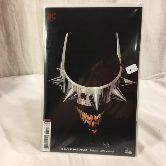 Collector DC, Comics The Batman Who Laughs #1 Variant Edition Cover Comic Book