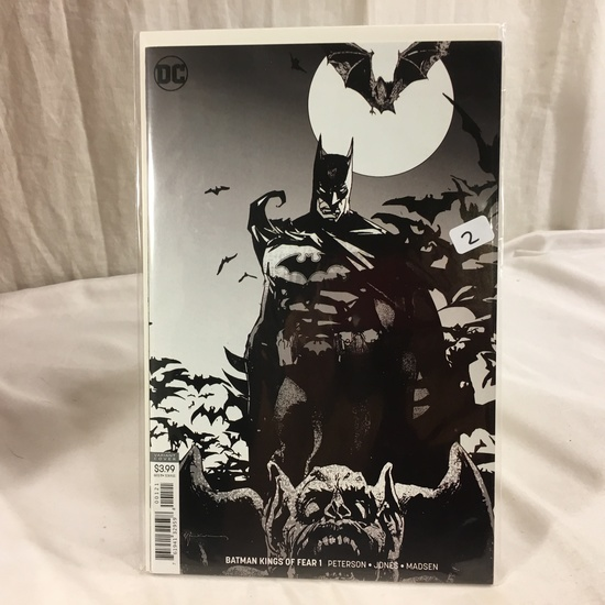 Collector DC, Comics Batman Kings Of Fear  #1 Variant Edition Cover Comic Book