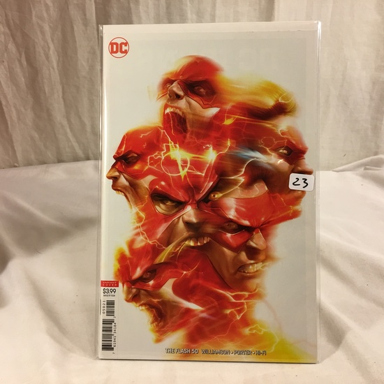 Collector DC, Comics The Flash #50 Variant Edition Cover  Comic Book