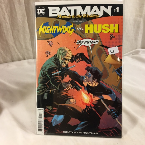Collector DC, Comics Batman Pelude to the Wedding Part 2 Nighwing VS. HUSH #1  Comic Book