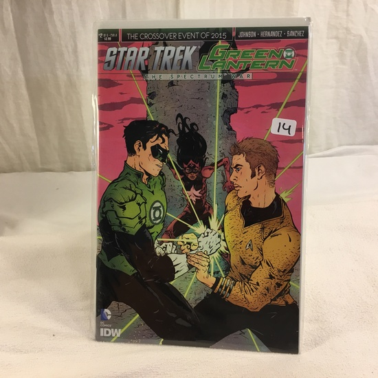 Collector IDW DC, Comics Star Trek Green Lantern The Spectrum War #2 Of 6 Cover A 2016
