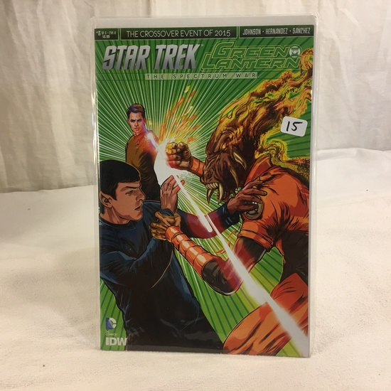 Collector IDW DC, Comics Star Trek Green Lantern The Spectrum War #3 Of 6 Cover A 2017