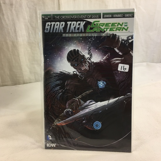Collector IDW DC, Comics Star Trek Green Lantern The Spectrum War #4 Of 6 Cover A 2018
