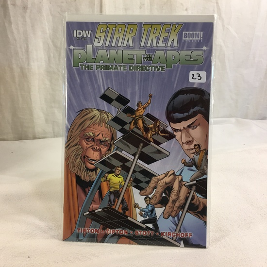 Collector IDW Comics Star Trek Boom Studios Planet Of The Apes The Primate Directive #5 Comic