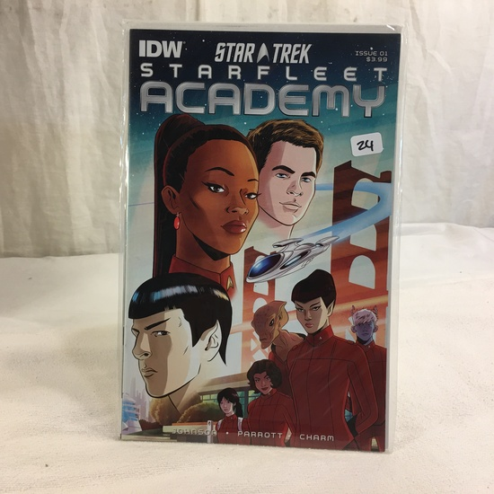Collector IDW Comics Star Trek Starfleet Academy Issue #1 Comic Book
