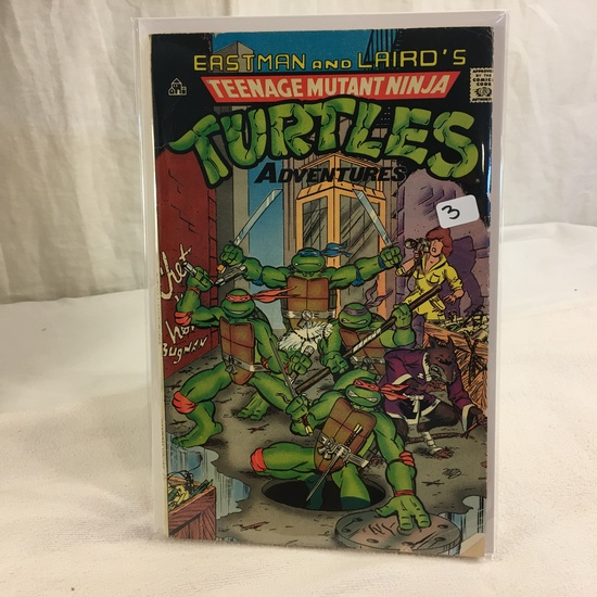 Collector Vintage  Comics Easrman and Laird's Teenage Mutant Ninja Turtles Adventures Comic